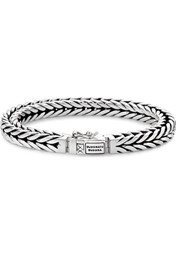 Buddha to Boeddha unisex armband 925 zilver 19 zilver 32004855