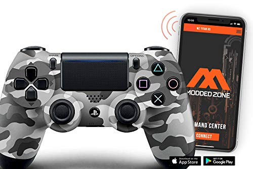 Urban Camo PS4 PRO Smart Rapid Fire Modded Controller Mods for FPS All Major Shooter Games Warzone & More (CUH-ZCT2U)