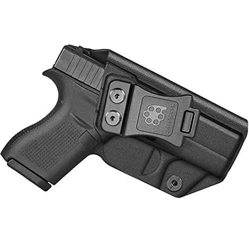 Amberide IWB KYDEX Holster Fit: Glock 42 Pistol | Inside...