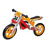 WOOMAX - Bici sin pedales en madera Sport Bike 12' (ColorBaby 85371)