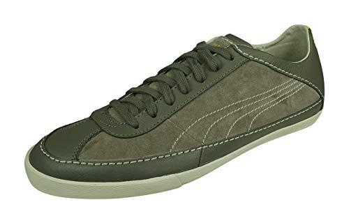 Puma Rudolf Dassler Kollege Lo Zapatillas Piel Zapatos Informales-Grey-39
