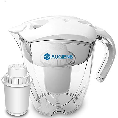 Augienb PH -ORP Pichet purificateur d'eau alcaline ioniseur avec filtre 10 tasses 3,5 l