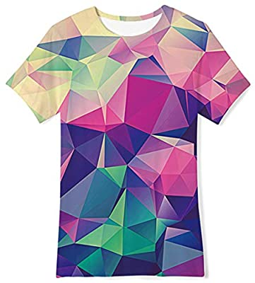 BFUSTYLE Boys Girls 3D Print Cool T-Shirt Teen Kid Short Sleeve Pullover Tees