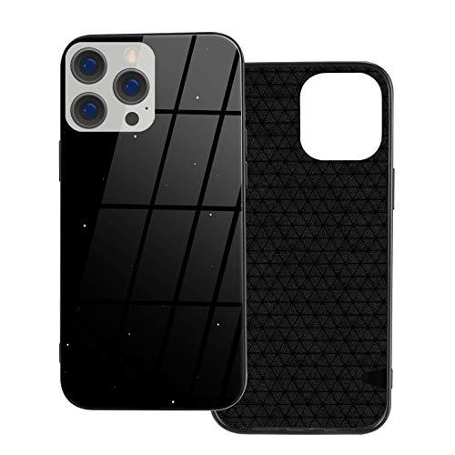 Tutui Carcasa de cristal compatible con iPhone 12, compatible con iPhone 12 Pro, resistente a los arañazos de vidrio templado flexible que absorbe los golpes