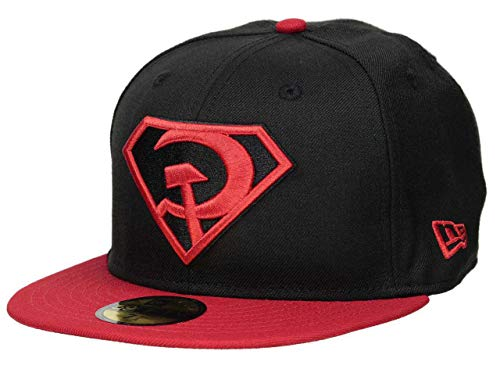 New Era Superman Red Son Rising Cap 59fifty 5950 Fitted Basecap Kappe Men Special Limited Edition