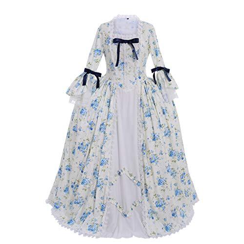 CosplayDiy Damen Rokoko Ballkleid Gothic Viktorianisches Kleid Kostüm - - XX-Large