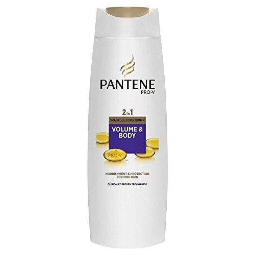 Pantene Pro-V Il Volume E Corpo 2In1 Shampoo E Balsamo (400ml) (Confezione da 6)