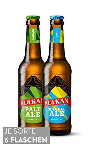VULKAN Hopfenpaket 12x0,33l / 6 x Pale Ale/ 6 x India Pale Ale (5,03€/l)
