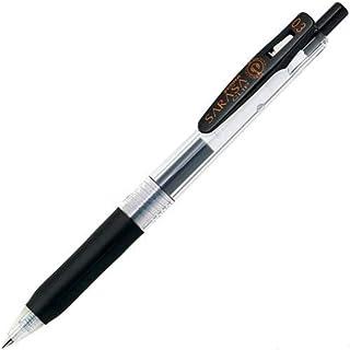 ゼブラ ジェルボールペン サラサクリップ 0.3 黒 B-JJH15-BK