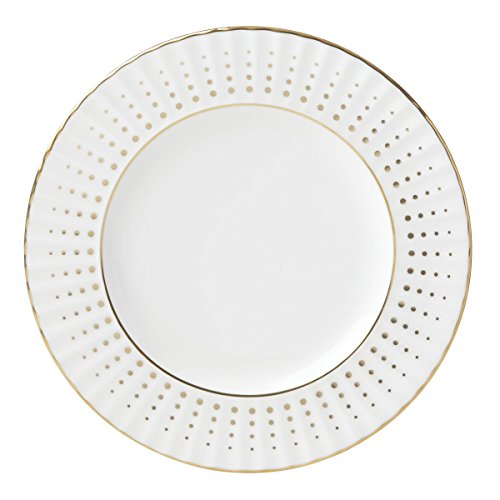Lenox Golden Waterfall Bread Plate, 0.40 LB, White