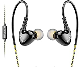 AGPTEK Adjustable Sport in-Ear Wired Earphone for Mp3 Players, Smartphones, Laptops,..