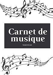 Carnet de note Musique: Carnet pour musicien en herbe | Grande portées | 100 pages Fomat A4 (French Edition)