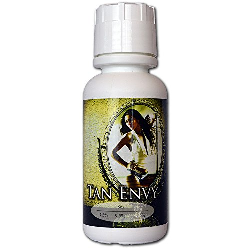 Tan Envy European Blend 8 oz of 9.5% Med DHA Sunless Airbrush Spray Tanning Solution