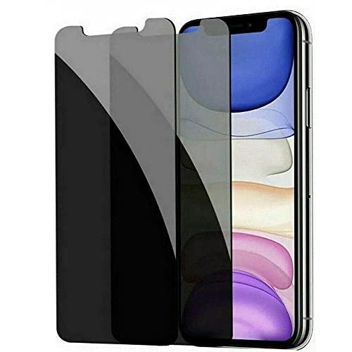 3 piezas protector de pantalla de cristal templado anti-espía de privacidad, para iPhone 6 7 8 Plus X 11-Para iPhone Xr