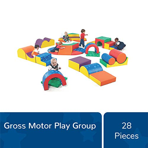 Save %26 Now! Children's Factory Gross Motor Play Group, Kids 28 Piece Indoor Play Equipment, Toddle...
