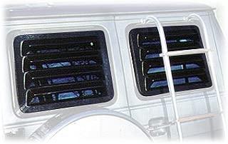 Willpak Industries 2005 ABS Van Rear Window Louver for Chevrolet/GMC