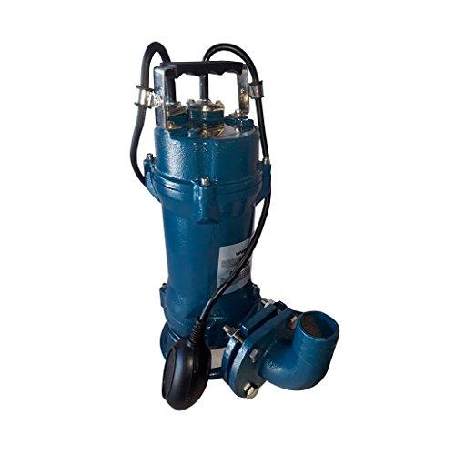 SCHRAIBERPUMP 1hp 115v Sewage Cutter Pump with Float Switch, 100% Cast Iron, 74 gpm, 45'lift, Heavy Duty, stainless...