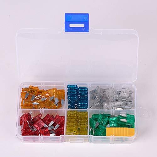 120 Stks Auto Zekering Zink Materiaal Verzekering Tabletten Kleine Insert Zekering Set