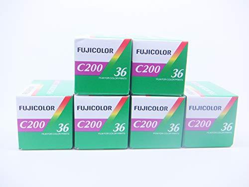 Fujicolor C200 Kamerafilm, 35 mm, 36 Belichtungen, 6 Stück