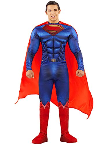 Funidelia | Disfraz de Superman - La Liga de la Justicia Oficial para Hombre Talla L Hombre de Acero, Superhelden, DC Comics, Justice League