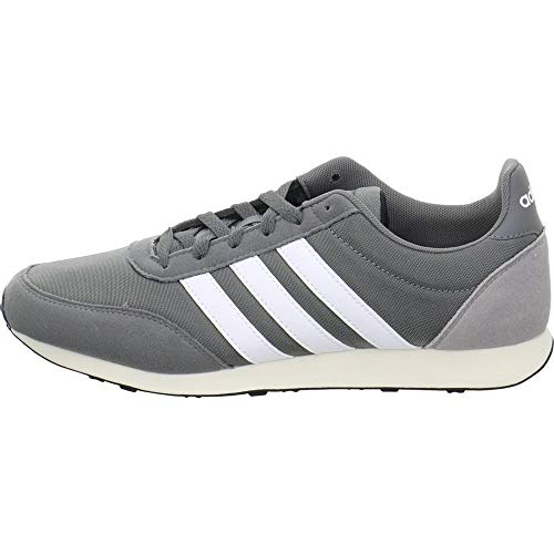 adidas V Racer 2.0, Herren Laufschuhe, Grau (Grey Four F17/Ftwr White/Light Granite Grey Four F17/Ftwr White/Light Granite), 42 2/3 EU (8.5 UK)