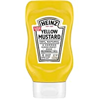 Heinz Yellow Mustard (8 oz Bottle)