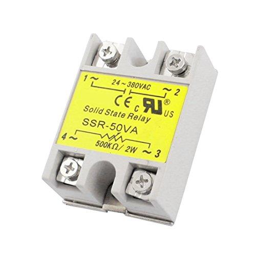 SSR-50VA 500K Ohm/2W Input AC24-380V Output 50VA Solid State Relay