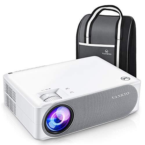Produktbild von Beamer 7000 Lux, Native 1080p Beamer Full HD, VANKYO Performance V630 Beamer Heimkino, mit ±50°Elektronische Korrektur, unterstützt HDMI USB TV Stick Xbox Laptop, iOS/Android Smartphone Projektor