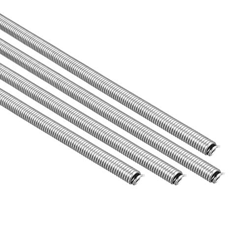 uxcell Heating Element Coil Wire AC220V 3000W / AC110V 750W Kiln Furnace Heater Wire 7.2mm800mm 4PCS