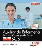 Auxiliar de la Función Administrativa. Servicio Cántabro de Salud. SCS.: Auxiliar de Enfermería. Servicio Cántabro de Salud. SCS. Temario Vol. III.: 3