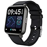 Smart Watch,1.69' Men Women Bluetooth Smartwatch Waterproof IP68,GPS Fitness Tracker with Sleep Heart Rate Blood Oxygen Monitor,Activity Pedometer Health Smart Watch Compatible for Android iOS Phones