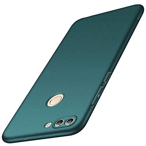 anccer Huawei Enjoy 7S/P Smart Hülle, [Serie Matte] Elastische Schockabsorption & Ultra Thin Design für Huawei Enjoy 7S/P Smart (Kies Grün)