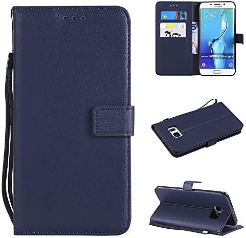 Leather Wallet Phone Case for Samsung Galaxy S6 Edge Plus with Credit Card Holder Slot Kickstand product image