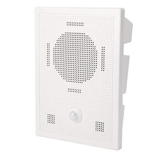 Timbre de Alarma de Puerta Timbre de Bienvenida inalámbrico Timbre de Entrada de Puerta con Sensor Aviso de Voz Alarma de Entrada Hogar/Hotel/Tienda Sistema de Alerta de Seguridad(YO)