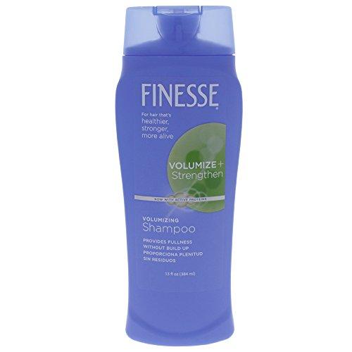 Finesse Volumize + renforcer Shampooing volumisant 13 oz (Pack de 4)