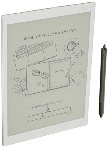 【公式】富士通10.3型フレキシブル電子ペーパーQUADERNOA5サイズ/FMV-DPP04