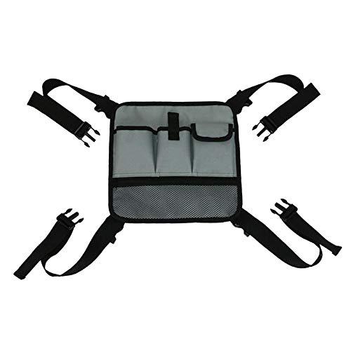 Baosity Walker-tasche, klappbarer walker-korb organisator beutel tote für jeden walker-stil rollator und rollstuhl, aktualisiertes design