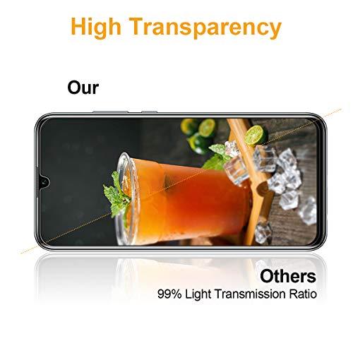 3 Stück Panzerglasfolie für Huawei Honor 10 Lite/P Smart 2019 Panzerglas Schutzfolie Anti Kratzen Ohne Bläschen Displayschutzfolie Blasenfrei Einfache Montage für Huawei Honor 10 Lite Transparent - 6