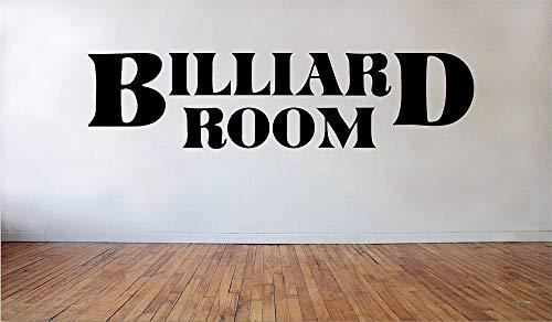 Ditooms Wandtattoo/Wandaufkleber, Vinyl, Motiv Billiard Room