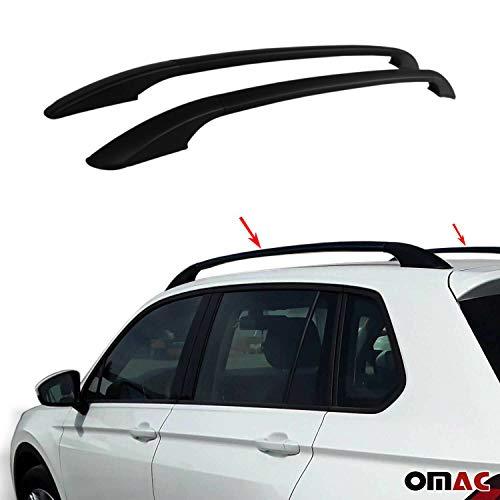 Aluminium Schwarz Dachreling Dachgepäckträger für Qashqai 2007-2014 Relingträger Gepäckträger Fahrzeugspezifisch