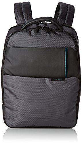 "Samsonite Qibyte Laptop Backpack 14.1"" Mochila Tipo Casual, 14.5 litros, Color Antracita"