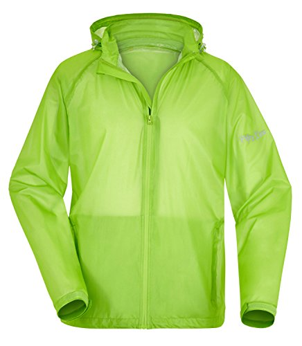 Fifty Five Lichte heren regenjas functionele jas Percy outdoorjas winddicht waterdicht ademend