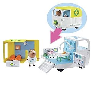 Peppa Pig - Playset Ambulancia y Centro médico Peppa Pig