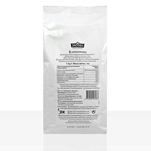 Jacobs Kaffeeweiss 15, Kaffeeweisser 1kg 15% Fett
