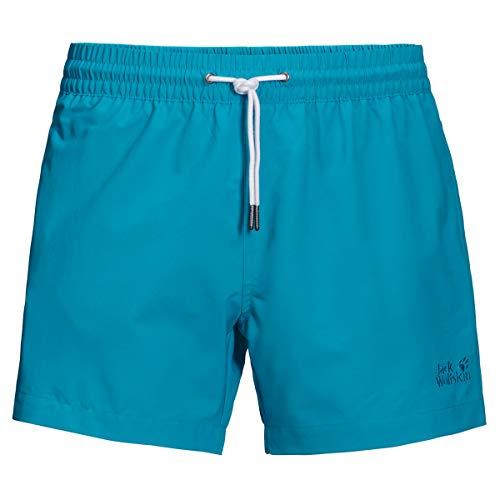 Jack Wolfskin Herren Baywim Shorts, Blue Reef, M