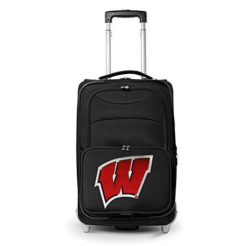 Denco NCAA Wisconsin Badgers 21-inch Carry-On Luggage