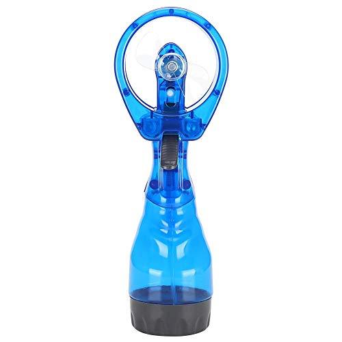 Nebulizzazione del ventilatore, Mini dispositivo di raffreddamento a spruzzo d'acqua portatile per l'estate portatile Mini Nebulizzatore Idratante per viaggi all'aperto in ufficio, 3,7 x 2,6 x 10 poll