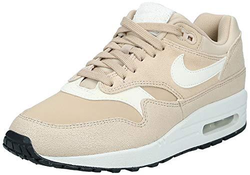 Nike AIR MAX 1 Premium W Sneaker Femmes Beige - 36 - Sneaker Low
