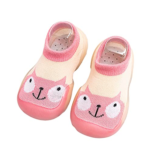 Toddler Boys Girls Short Tube boots Soft Bottom Non-slip Breathable Indoor Floor Socks And Shoes Slip-On Indoor Home Shoes Cute Fashion Comfortable No-Slip Learn Walking Shoes Casual Ankle Boots