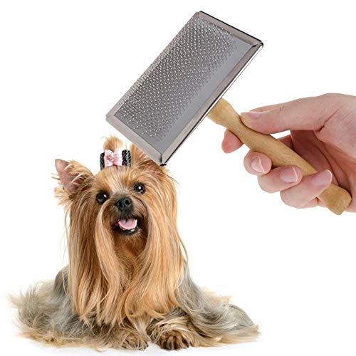 ARONTOME Peine Mascotas, Peine, Cepillo para Quitar, Cepillo